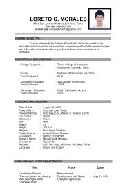 Examples Of Resumes For Teachers Examples Of Resumes