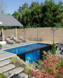 Backyard Swimming Pool Take A Dip In Modpools Shipping Container Swimming Pool