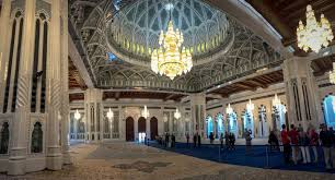 sultan qaboos grand mosque interior grand mosque oman the travelling twins