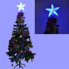 Celestial Lights Christmas Tree Topper Christmas Tree Topper Star Lightcolorful Changing Xmas Led Lamp Decorations Party Lights Christmas Led Star Tree Star Light