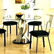 round table glass top dining glass top kitchen table and chairs glass top dining room table