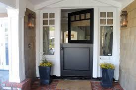 front door shades. Elegant Dutch Front Door Photo In New York With A Black Shades