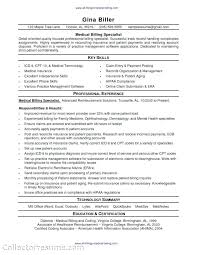 medical billing manager resume