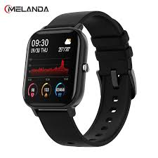 MELANDA 1.4 inch P8 Smart Watch Men Full Touch Fitness Tracker Blood  Pressure Women Sports Smartwatch GTS for Xiaomi relogio|Smart Watches