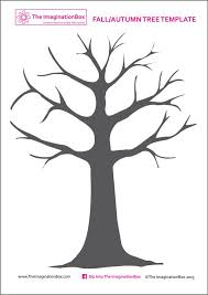 Winter Tree Template Print This Free Tree Template From The Imaginationbox To Create Your