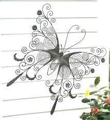 outdoor iron wall decor sophisticated metal large erfly art star d