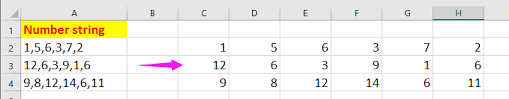 If your list is separated by a comma, or has a space between each item, choose the corresponding option. How To Sort List Of Numbers Separated By Commas In Excel