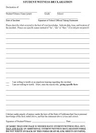 19 free witness statement templates