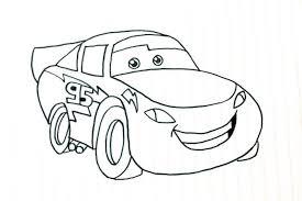 マックイーンカーズのイラストの描き方簡単動画でマックイーンを