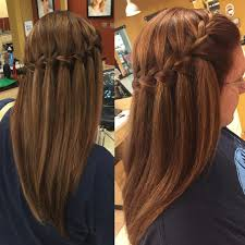 Hairstyle Waterfall 20 insanely cute waterfall hairstyles to try hairstyle monkey 1259 by stevesalt.us
