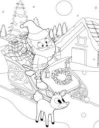 Small Picture Santa Coloring Page Handipoints