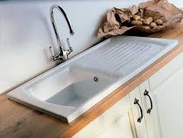 white kitchen sink with drainboard. White Porcelain Kitchen Sinks Luxury Sink With Drainboard  Exellent White Kitchen Sink Drainboard -