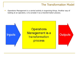 operations management operations management model 9