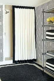 custom size shower curtains elegant best floor to ceiling for bathroom images on how hang bes