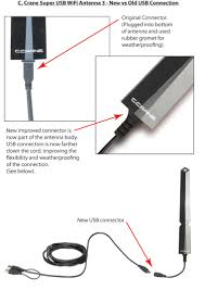 super usb wifi antenna 3 high power long range 802 11 b g n usb wifi antenna 3 connections old vs new