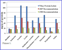 Protein Levels In Food Chart Whey Protein Provides An Ideal Dietary Source Of Essential
