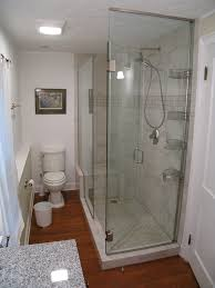 which glass shower options work for small bathrooms