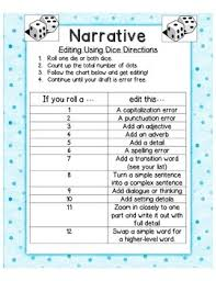 Writers Edit Your Writing Using Dice