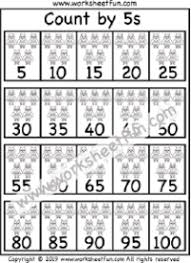 Skip Counting Free Printable Worksheets Worksheetfun