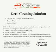 make your own exterior house cleaning solution. a home exterior and deck cleaning solution from power washing company! these simple ingredients will make your own house