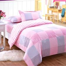 teen bedding sets pink plaid shabby chic quality teen bedding sets for girls teen bedding