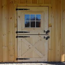 dutch door hardware style