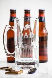 diy etched beer mugs for father s day father s day gift ideas diy projects