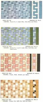 floor tile color patterns. Exellent Color Blockrandomtile1930svintage In Floor Tile Color Patterns C