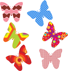 Butterfly Patterns Best Clipart Colorful Butterfly Patterns