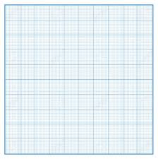 Vector Square Engineering Graph Paper With 10 Metric Divisions