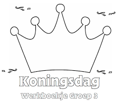Koningsdag Werkboekje Groep 3 Klaarwerknl Koningsdag