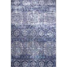 bazaar crystal blue 5 ft 2 in x 7 ft 9 in
