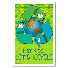 rp253 - Recycling Poster, Recycling placard, recycling sign, recycling  memo, recycling post