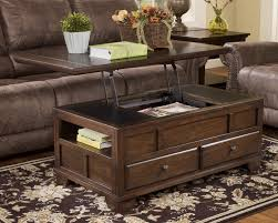 szenisch dark wood coffee table chest with sliding top trunk diy wooden aust