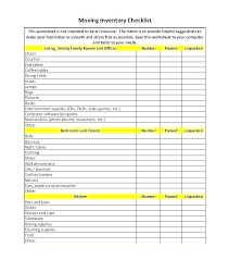 Template Office Move Checklist Template