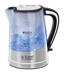 <b>Russell Hobbs</b> 22851 BRITA Filter Purity Kettle, 3000 W, 1 Litre ...