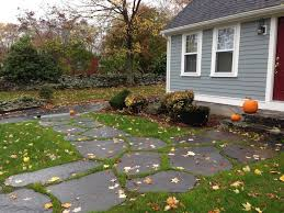 patio stones with grass in between. Beautiful Stones Goshen Stepping Stones With Grass Between Form A Walkway That Blends Nicely  Into The Surroundings Stone Is Strong Enough To Allow Tractor Drive  To Patio Stones With Grass In Between