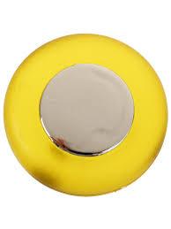 <b>Ручка кнопка мебельная</b>, пластиковая, желтая Infiniti 11875701 в ...