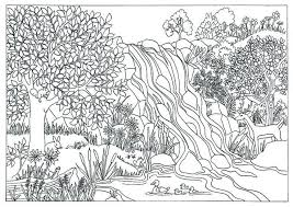 Coloring Pages For Adults Bing Images A Free Nature Coloring