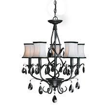 black chandelier lighting. black chandelier lighting photo 5 woodbridge avigneau 5light