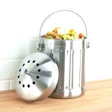 stainless steel composting pail stainless steel compost pails kitchen composting stainless steel compost pail epica stainless steel compost bin australia