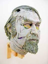 Scott Fife | Colossal | Cardboard art, Art, Cardboard sculpture