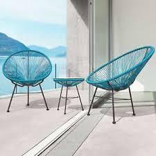 modern wicker patio furniture. Image Is Loading Modern-Wicker-Patio-Chairs-Set-Of-2-Outdoor- Modern Wicker Patio Furniture R