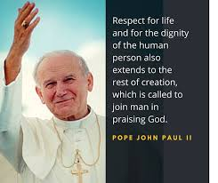 Pope John Paul Ii Quotes Classy Pope John Paul II Ignatian Solidarity Network