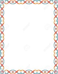 simple frame border. Beautiful Clipart Border #5 Simple Frame
