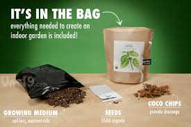 garden in a bag. Contents Of The DIY Garden In A Bag