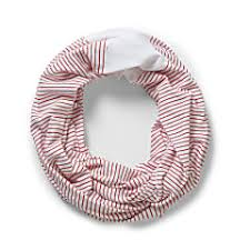 Buy Craghoppers Nosilife Infinity Scarf Fiesta Red Stripe