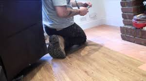 handy hubby hire laying karndean wood strip flooring