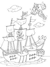 Bateau De Pirate Coloriages Des Transports Page 2