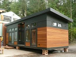 Small Picture Gallery The Waterhaus a tiny sustainable prefab home GreenPod